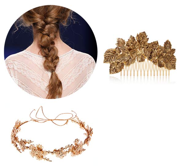 jewelry in the hair