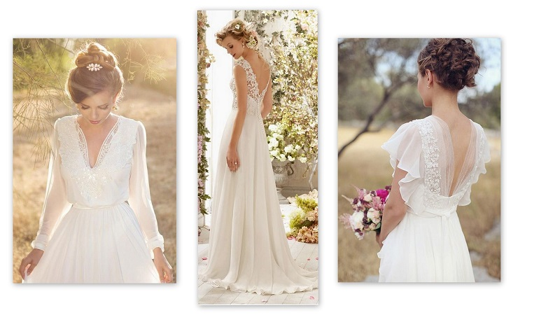 Choose your wedding dress according to the shape of your body