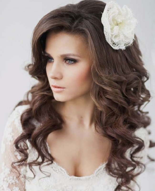 how to style hair for wedding hairstyles for the with curly hair ideas and trends 2953