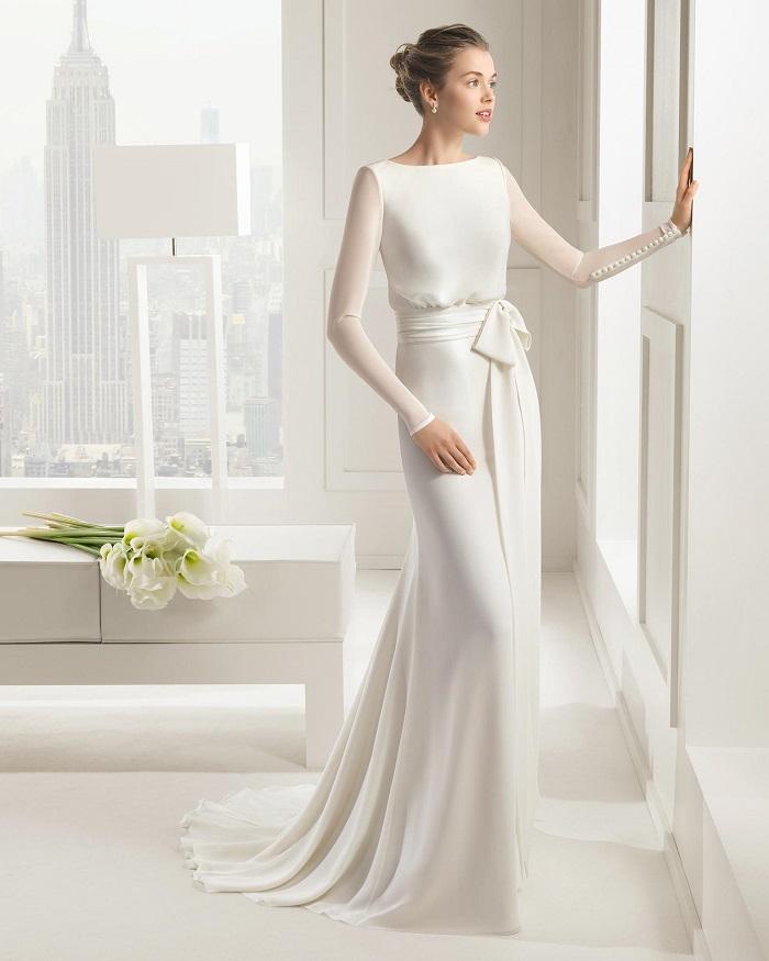 Wedding Dress A Line Court