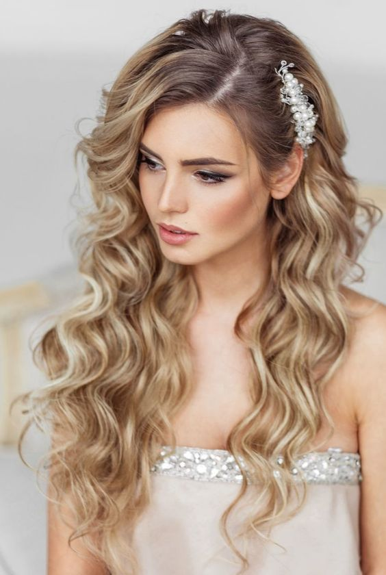 Hairstyles for the bride ideas and suggestions