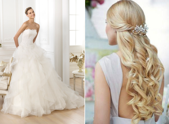 Wedding Dress and Hairstyle: 5 Styles For The Bride!