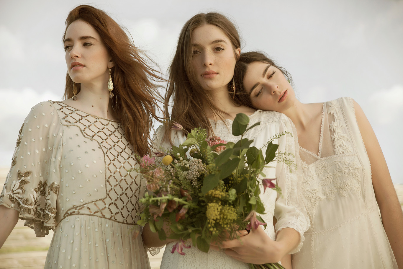 The second collection of wedding dresses of Intropia makes us fall in love again