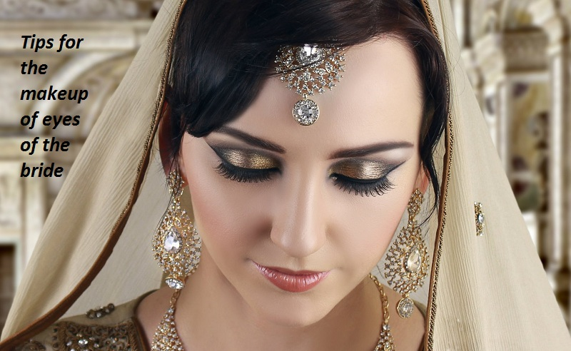 Best tips for the makeup of eyes of the bride