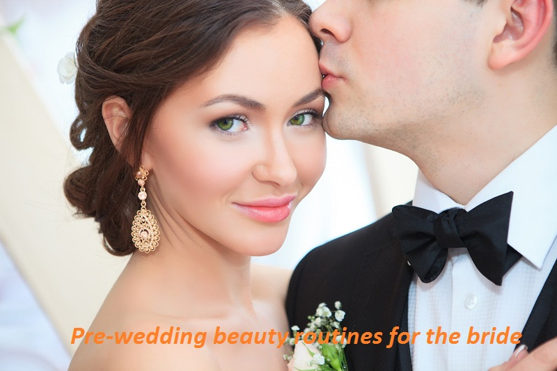 Pre-wedding beauty routines for the bride