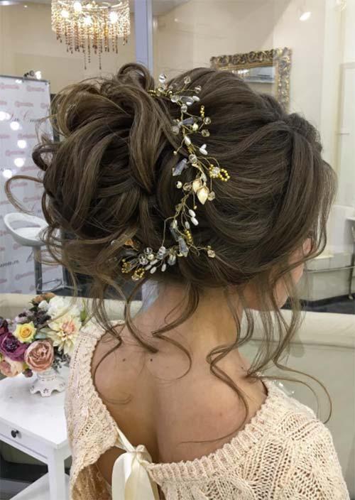 wedding updos