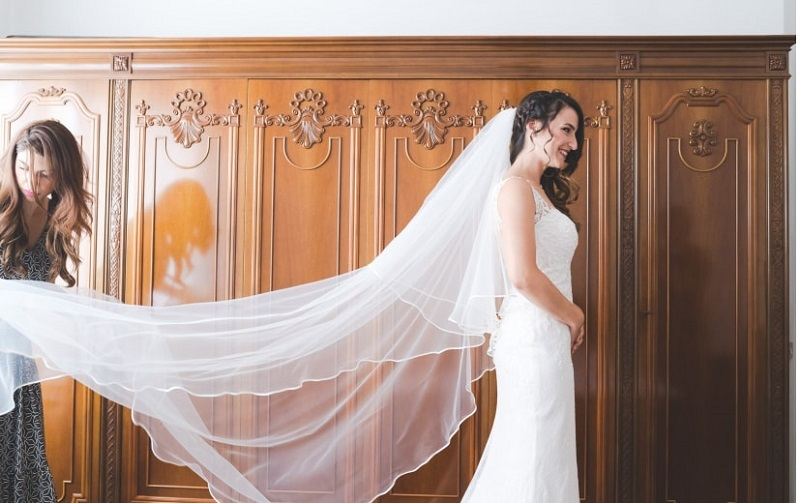 6 good reasons to show off the bridal veil
