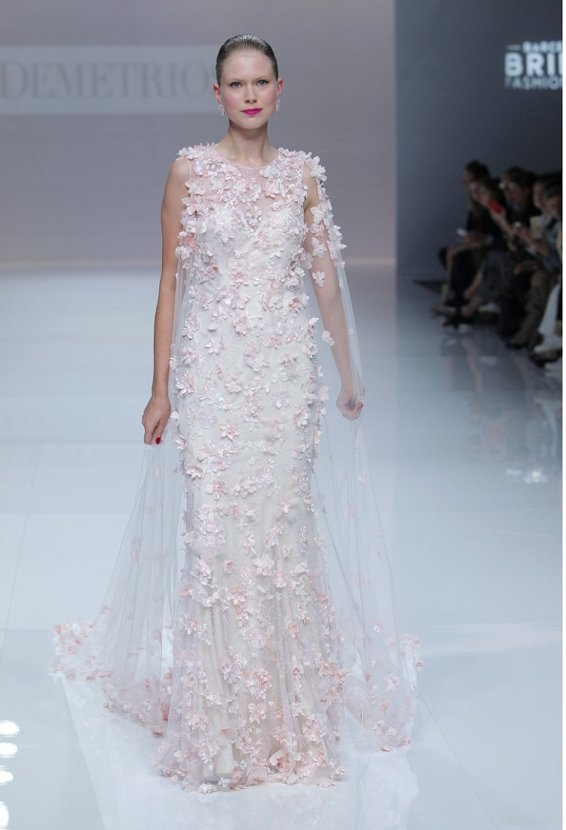Wedding dresses with floral inspiration: when nature meets fashion