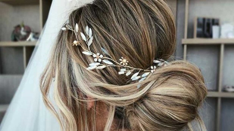 Bridal hairstyles for long hair 2019