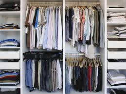 How to organise a wardrobe for men